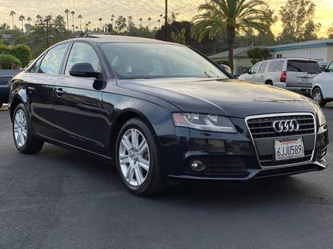 2009 Audi A4 for sale at Gold Coast Motors in Lemon Grove CA