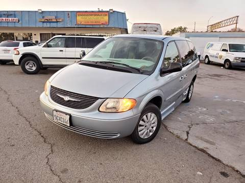 2003 Chrysler Town and Country for sale at Gold Coast Motors in Lemon Grove CA
