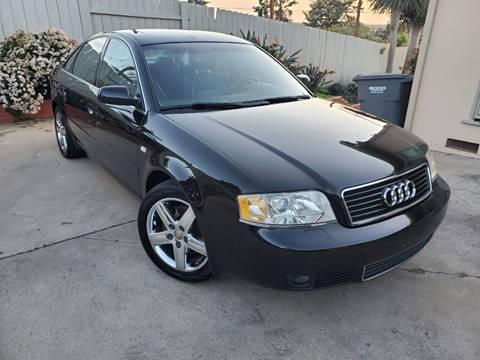 2002 Audi A6 for sale at Gold Coast Motors in Lemon Grove CA