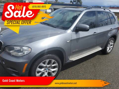 2012 BMW X5 for sale at Gold Coast Motors in Lemon Grove CA