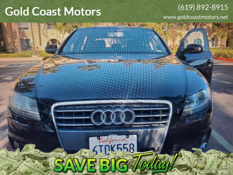 2012 Audi A4 for sale at Gold Coast Motors in Lemon Grove CA