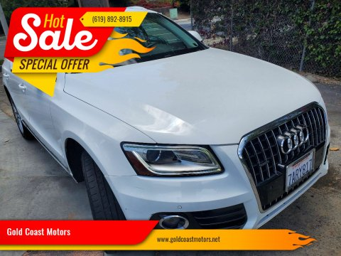 2013 Audi Q5 for sale at Gold Coast Motors in Lemon Grove CA