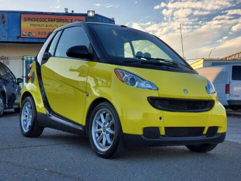 2008 Smart fortwo for sale at Gold Coast Motors in Lemon Grove CA