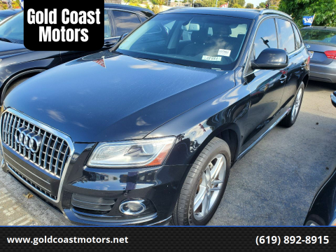 2014 Audi Q5 for sale at Gold Coast Motors in Lemon Grove CA