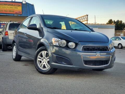 2013 Chevrolet Sonic for sale at Gold Coast Motors in Lemon Grove CA