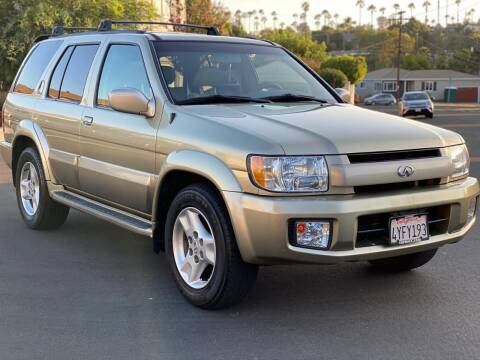 2002 Infiniti QX4 for sale at Gold Coast Motors in Lemon Grove CA