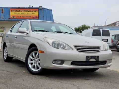 2003 Lexus ES 300 for sale at Gold Coast Motors in Lemon Grove CA