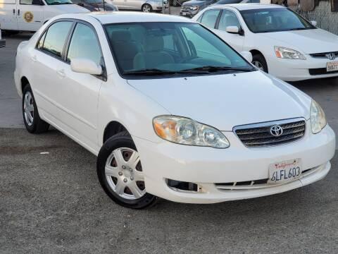 2007 Toyota Corolla for sale at Gold Coast Motors in Lemon Grove CA