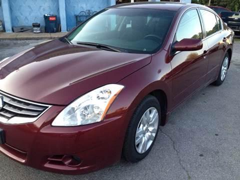 2010 Nissan Altima for sale at Durani Auto Inc in Nashville TN