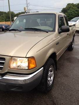 2002 Ford Ranger for sale at Durani Auto Inc in Nashville TN