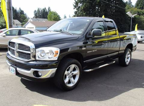 2007 Dodge Ram Pickup 1500 for sale in Lafayette, OR