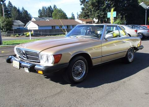 1984 Mercedes-Benz 380-Class for sale in Lafayette, OR
