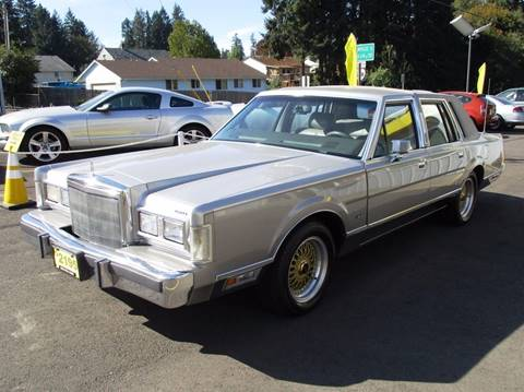 1988 Lincoln Town Car for sale in Lafayette, OR
