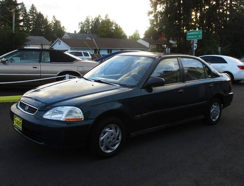 1996 Honda Civic For Sale At Yellow Line Motors In Lafayette OR