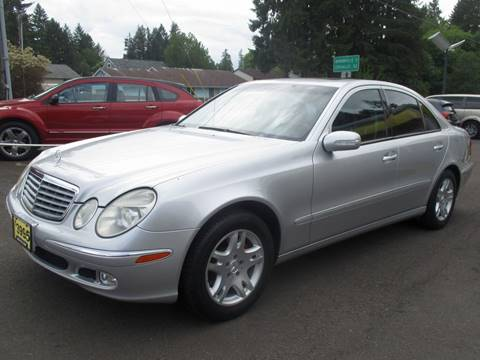 2003 Mercedes-Benz E-Class for sale in Lafayette, OR