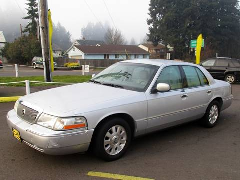 2003 Mercury Grand Marquis for sale at Yellow Line Motors in Lafayette OR