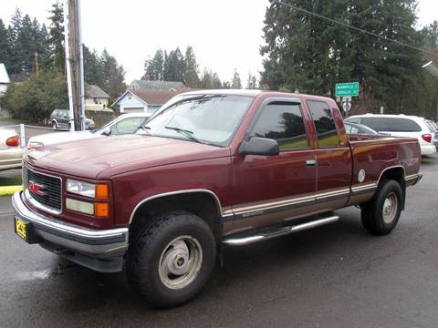 1997 GMC Sierra 1500 for sale at Yellow Line Motors in Lafayette OR