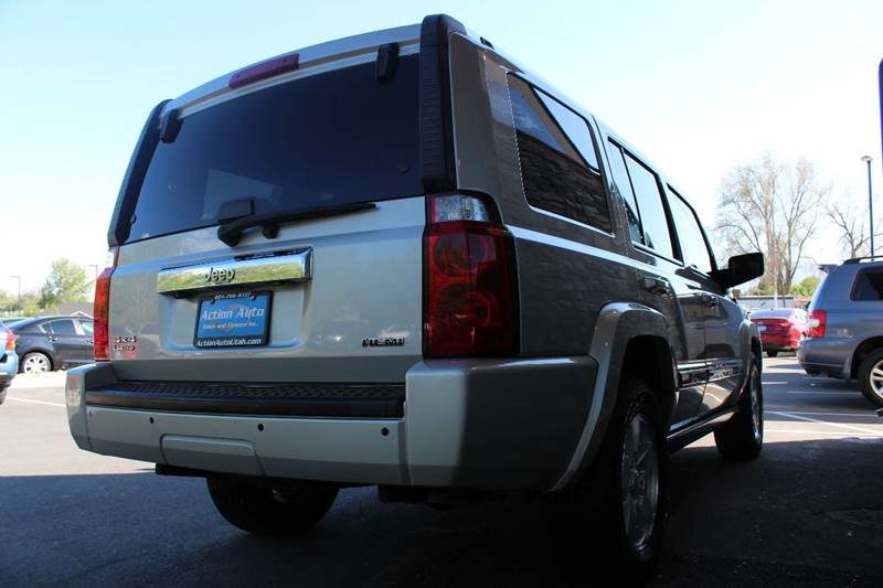 2008 Jeep Commander for sale at Action Auto Sales and Finance (Lehi Location) - Action Auto Sales and Finance #2 (Orem Location) in Orem UT