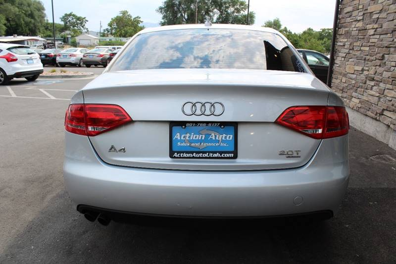 2009 Audi A4 for sale at Action Auto Sales and Finance (Lehi Location) - Action Auto Sales and Finance #2 (Orem Location) in Orem UT