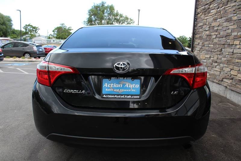 2014 Toyota Corolla for sale at Action Auto Sales and Finance (Lehi Location) - Action Auto Sales and Finance #2 (Orem Location) in Orem UT