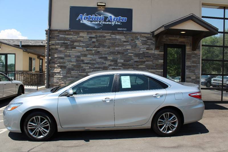 2016 Toyota Camry for sale at Action Auto Sales and Finance (Lehi Location) in Lehi UT