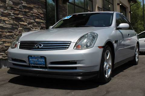 2004 Infiniti G35 for sale at Action Auto Sales and Finance (Lehi Location) in Lehi UT