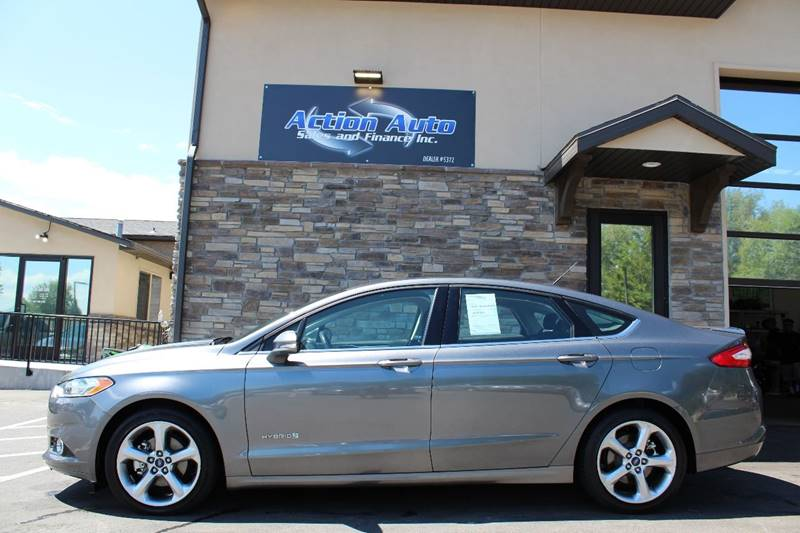 2014 Ford Fusion Hybrid for sale at Action Auto Sales and Finance (Lehi Location) in Lehi UT