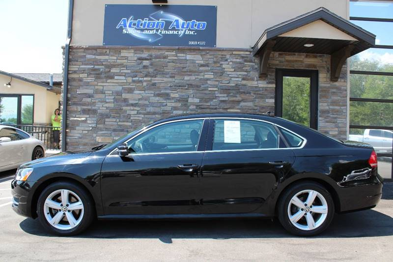 2013 Volkswagen Passat for sale at Action Auto Sales and Finance (Lehi Location) in Lehi UT