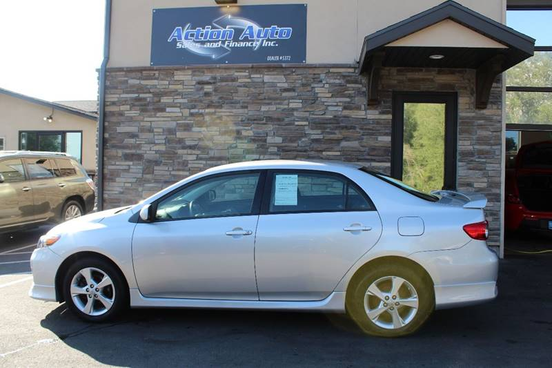 2013 Toyota Corolla for sale at Action Auto Sales and Finance (Lehi Location) in Lehi UT