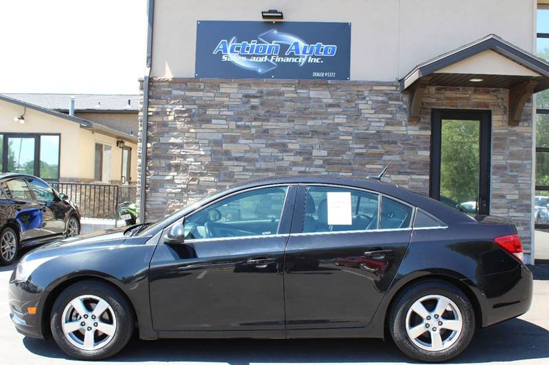 2012 Chevrolet Cruze for sale at Action Auto Sales and Finance (Lehi Location) in Lehi UT