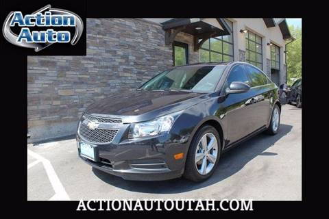 2014 Chevrolet Cruze for sale at Action Auto Sales and Finance (Lehi Location) - Orem Location in Orem UT