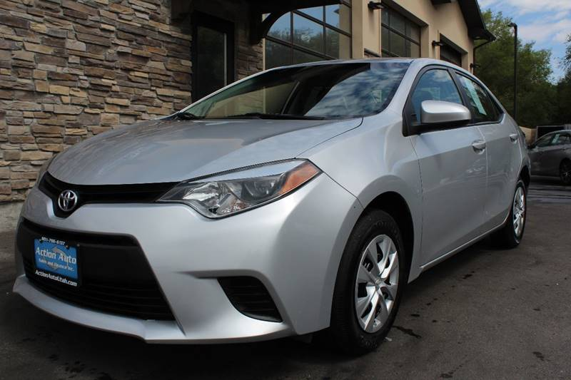 2015 Toyota Corolla for sale at Action Auto Sales and Finance (Lehi Location) in Lehi UT
