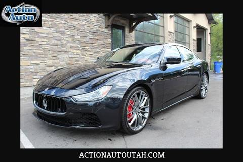 2014 Maserati Ghibli for sale at Action Auto Sales and Finance (Lehi Location) in Lehi UT