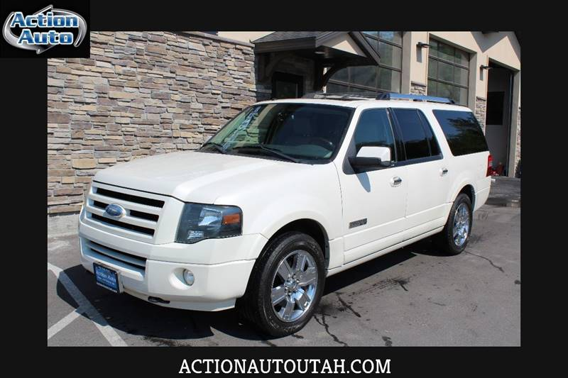 2008 Ford Expedition EL for sale at Action Auto Sales and Finance (Lehi Location) in Lehi UT