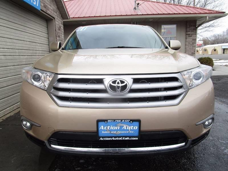 2011 Toyota Highlander for sale at Action Auto Sales and Finance (Lehi Location) - Orem Location in Orem UT