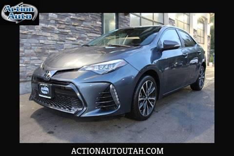 2017 Toyota Corolla for sale in Orem, UT