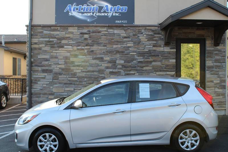 2012 Hyundai Accent for sale at Action Auto Sales and Finance (Lehi Location) - Orem Location in Orem UT