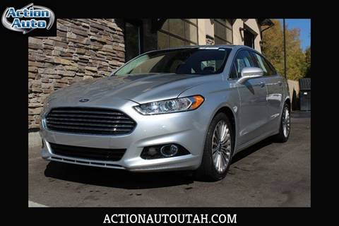 2013 Ford Fusion for sale in Orem, UT