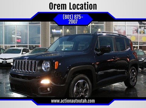 2015 Jeep Renegade for sale in Orem, UT