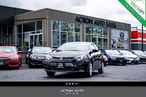 2016 Toyota Corolla for sale in Orem, UT