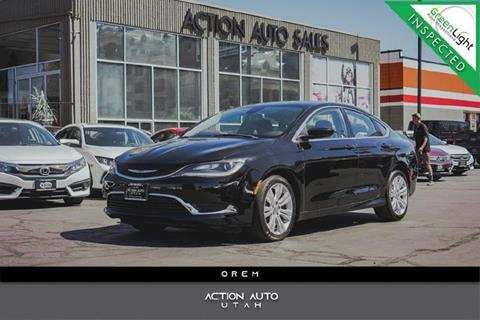 2015 Chrysler 200 for sale in Orem, UT