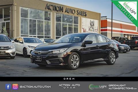 2016 Honda Civic for sale in Orem, UT
