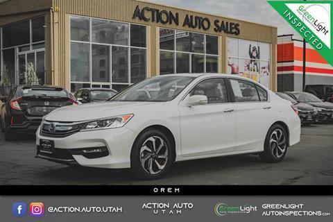 2016 Honda Accord for sale in Orem, UT