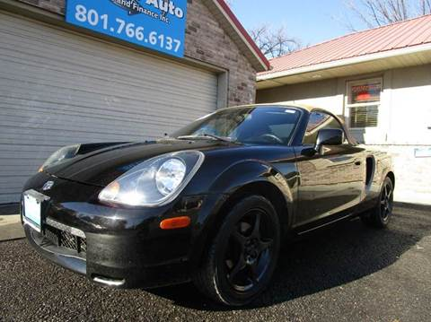2002 Toyota MR2 Spyder for sale in Lehi, UT