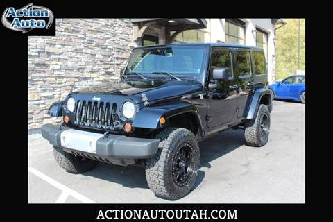 2013 Jeep Wrangler Unlimited for sale in Lehi, UT