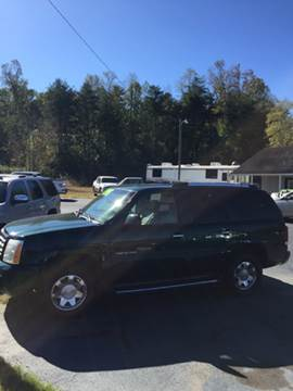 2002 Cadillac Escalade for sale in Hudson, NC