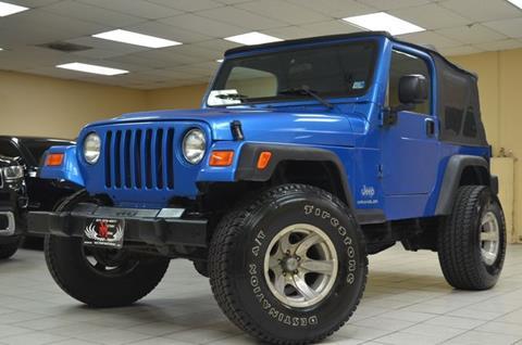 2003 Jeep Wrangler for sale in Manassas, VA