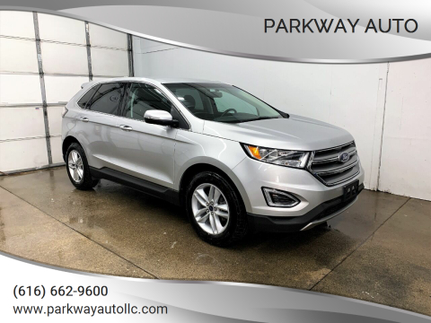 2016 Ford Edge SEL for sale at PARKWAY AUTO in Hudsonville MI