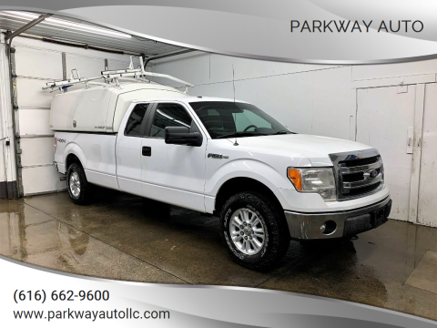 2014 Ford F-150 for sale at PARKWAY AUTO in Hudsonville MI