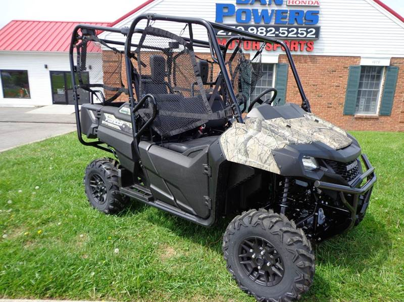 2021 Honda Pioneer 700-4 dlx for sale at Dan Powers Honda Motorsports in Elizabethtown KY
